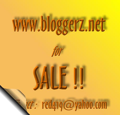 Bloggerz.net for sale